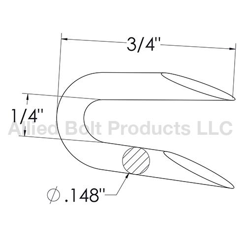 3  4 u0026quot  b staple  3  4 u0026quot  long x 1  4 u0026quot  wide x  148 u0026quot  wire diameter